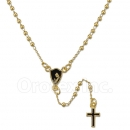 051007 Gold Layered Rosary