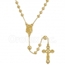 054003 Gold Layered Rosary