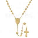 054005 Gold Layered Rosary