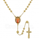 054007 Gold Layered Rosary