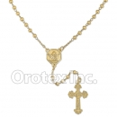 056002 Gold Layered Rosary