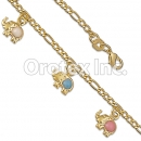 0BR052 Gold Layered Kids Bracelet