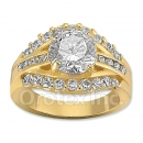 12030 Gold Layered CZ Women's Ring