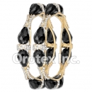 B102 Gold Layered CZ Bangle