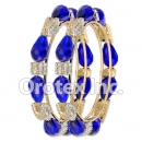 B103 Gold Layered CZ Bangle