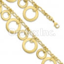 BN 008 Gold Layered Fancy Bracelet
