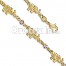 BR014 Gold Layered Kids Bracelet