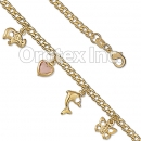 BR049 Gold Layered Kids Bracelet