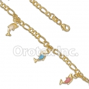 BR050 Gold Layered Kids Bracelet