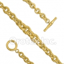 BR154 Orotex Gold Layered Bracelet