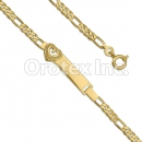 BR156 Orotex Gold Layered Kids Bracelet