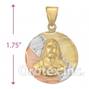 CL22C Gold Layered Tri-Color Charm