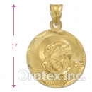 CL32-2 Gold Layered Charm