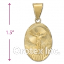 CL32B Gold Layered Charm