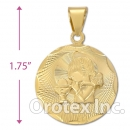 CL51B Gold Layered Charm