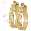 EH027 Gold Layered Hoop Earrings