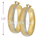 EH062 Gold Layered Hoop Earrings