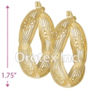 EH100 Gold Layered Hoop Earrings