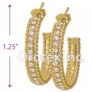 ES001 Gold Layered CZ Stud Earrings