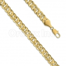 Orotex Gold Layered Cuban Yellow Pave Gauge 250