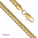 GFC2-14 Gold Layered Fancy Chain 5.00mm
