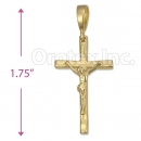 Orotex Gold Layered Cross