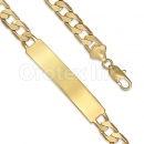 GFQB34-18 Gold Layered Bracelet