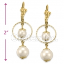 GLEL 002 Gold Layer Long Earrings