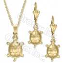 GLS 003 Gold Layered CZ Set