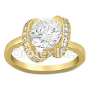 JAB008 Gold Layered CZ Ring