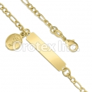 KB 008 Gold Layered Kids  Bracelet