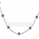 N013 Gold Layered Necklace