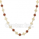 N014 Gold Layered Necklace