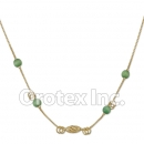 N017 Gold Layered Necklace