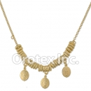 N018 Gold Layered Necklace