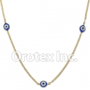 N019 Gold Layered Necklace