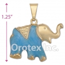 P020 Gold Layered  Charm