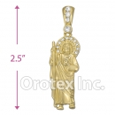 P87-6 Gold Layered Charm