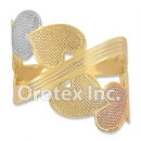 R005 Gold Layered Tri Color Women's Ring