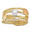 R010 Gold Layered Tri Color Women's Ring