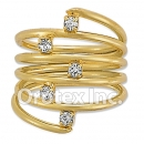 R013 Gold Layered Women's Ring
