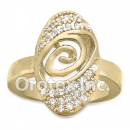 R062C Gold Layered CZ Ring
