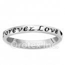925 Sterling Silver Forever Love Women's Ring