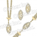 S 003 Gold Layered CZ Set