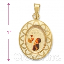 Orotex Gold Layered Pendant